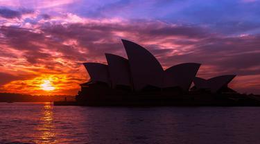 Ilustrasi sydney opera house (pixabay)