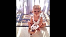 El-Mayka Rifat Sungkar yang lahir pada 25 Januari 2014 itu kini memiliki akun Instagram sendiri. (instagram.com/el.mayka)