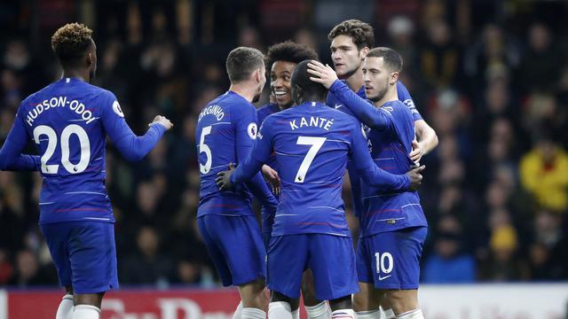 Chelsea Taklukan Watford