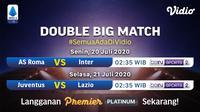 Jadwal big match Serie A pekan ini di Vidio. (Sumber: Vidio)