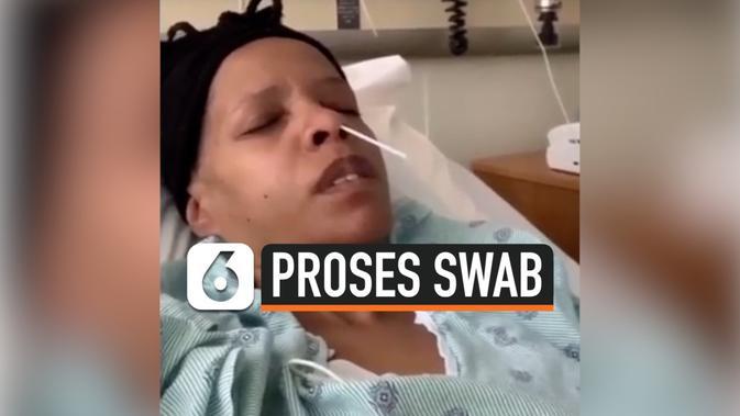 VIDEO: Begini Proses Pengambilan SWAB untuk Tes Corona