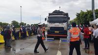 Waskita Toll Road Gelar Aksi Kampanye Keselamatan di Jalan Tol (dok: Merdeka)