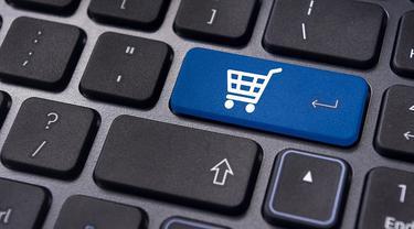 Ilustrasi Belanja Online, e-Commerce, eCommerce, Online Marketplace, Bisnis Online