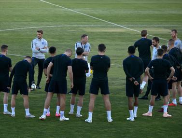 Mengintip Latihan Timnas Inggris Jelang Hadapi Spanyol