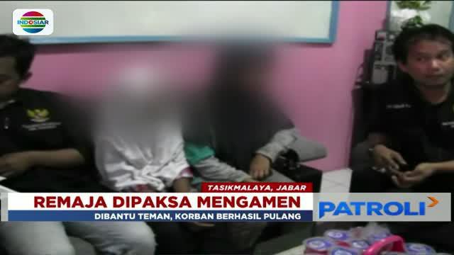 Dua dari enam remaja asal Tasikmalaya yang hilang ternyata diculik anak punk dan dipaksa mengamen.