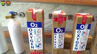 Polisi ungkap penjualan tabung oksigen dengan APAR