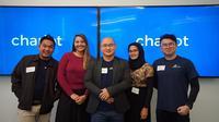 Keempat startup yang memenangkan kompetisi TelkomselTheNextDev 2017. (Foto: Telkomsel)
