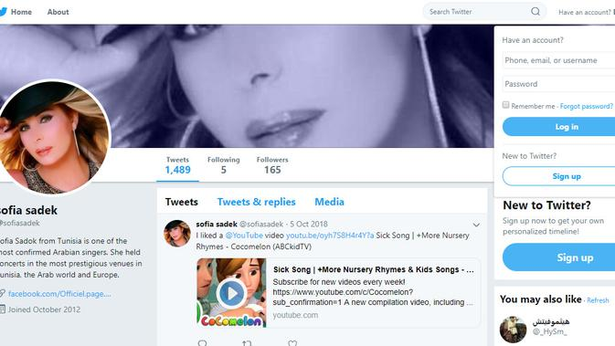 Cek Fakta - Sofia Sadek (Twitter)