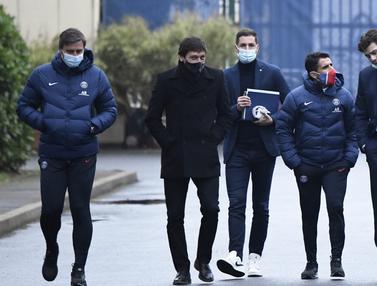 FOTO: Penampakan Mauricio Pochettino di Markas PSG