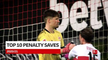 Berita Video 10 Saves Terbaik Bundesliga 2020/2021, Salah Satunya Aksi dari Kiper VfB Stuttgart