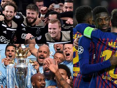 Klub Papan Atas yang Berpeluang Raih Treble Winners Musim Ini