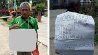 Orangtua korban yang menuntut keadilan Presiden Joko Widodo. (Istimewa/JawaPos.com)