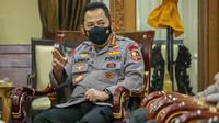 Kapolri Lestyo Sigit Prabowo menegaskan bahwa pelaksanaan BRI Liga 1 akan diselanggarakan dengan protokol kesehatan yang ketat terhadap pemain dan official, salah satunya harus sudah melakukan dua kali vaksin. (Foto: Dok. Humas Kemenpora)