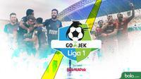 Perburuan Gelar Liga 1 2018 PSM Makassar Vs Persija Jakarta (Bola.com/Adreanus Titus)