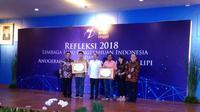 Liputan6.com mendapat penghargaan di ajang Apresiasi Insan Media LIPI (Istimewa)
