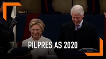Hillary Clinton tidak akan mencalonkan diri sebagai presiden pada Pilpres tahun 2020. Namun ia akan tetap berada di dunia politik.
