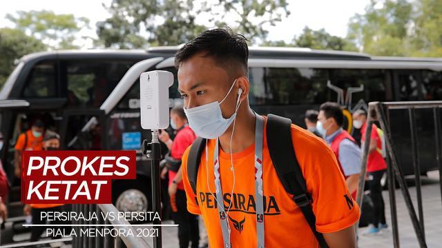 Berita Video Persiraja Banda Aceh dan Persita Tangerang Lakukan Protokol Kesehatan yang Ketat Sebelum Pertandingan