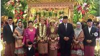 Pernikahan putra bungsu Hatta Rajasa (Instagram @aniyudhoyono)
