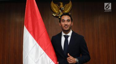 Striker Timnas Indonesia U-22 Ezra Walian