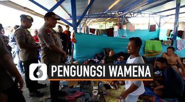 Kapolda Papua berharap pengungsi yang eksodus dari Wamena tidak bertambah. Kapolda menjamin keamanan waga di Wamena.