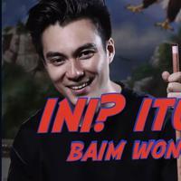 Ternyata Baim Wong memilih jawaban yang aman antara Marshanda atau Vebby Palwinta.