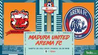 Shopee Liga 1 - Madura United Vs Arema FC (Bola.com/Adreanus Titus)