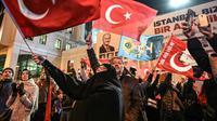 Ilustrasi warga Turki (AFP / Ozan Kose)