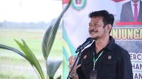 Gubernur Maluku Utara, Abdul Ghani Kasuba menyambut baik kesediaan Menteri Pertanian (Mentan) Syahrul Yasin Limpo hadir di tengah para petani Halmahera Utara. Dok Kementan