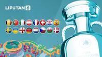 banner 16 besar Euro 2020 (Abdillah/LIputan6.com)
