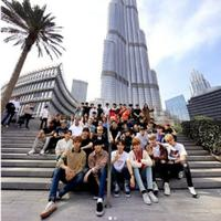 Artis SM Entertainment pelisiran di Dubai. (Instagram/smtown)