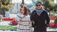 Chelsea Olivia dan Glenn Alinskie saat berlibur ke Korea Selatan [foto: instagram/chelseaoliviaa]