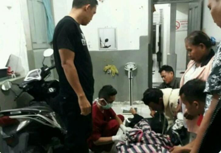 Pria Riau itu menikam saudara kembar identiknya yang sedang tertidur pulas. (Liputan6.com/M. Syukur)