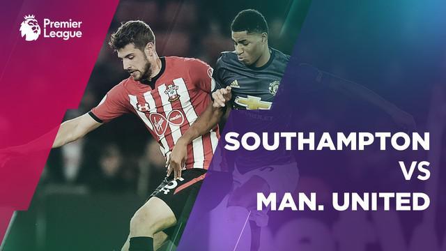 Berita video statistik Southampton vs Manchester United pada laga pekan ke-14 Premier League 2018-2019.