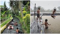 Kelakuan Nyeleneh Saat Main Air ini Bikin Kangen Masa Kecil (sumber: Instagram/banyu_achmat dan nchoy_fff)