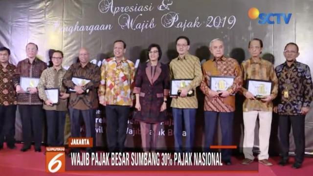 Kemenkeu dan Dirjen Pajak memberikan penghargaan kepada 30 wajib pajak besar dan 6 wajib pajak pribadi. Salah satu yang menerima penghargaan adalah Chairman dan Founder Emtek Group Raden Eddy Kusnadi.