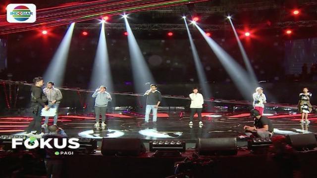 Sejumlah pengisi acara lakukan gladi resik dua hari jelang Konser Raya 24 Tahun Indosiar Luar Biasa.
