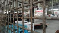 Vaksin Covid-19 tiba di Bandara Kualanamu, Kabupaten Deli Serdang, Sumatera Utara (Sumut)