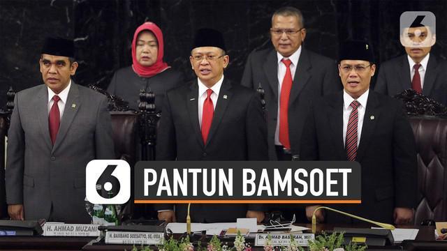 Ada yang menarik dalam acara pembukaan pelantikan Presiden dan Wakil Presiden tersebut, yakni pantun yang disampaikan Bambang Soesatyo.