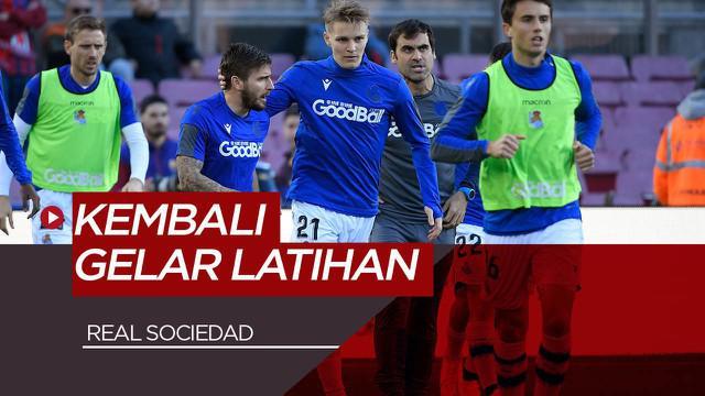 Berita Video Real Sociedad,Tim Pertama La Liga yang Memutuskan Kembali Berlatih Setelah 1 Bulan Pandemi Virus Corona