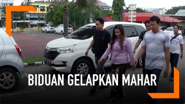 Biduan dangdut di Pinrang, Sulawesi Selatan menggelapkan uang mahar pernikahan dari mantan calon suami. Pelaku malah menikah dengan pria lain.