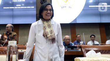 Rapat Perdana, Sri Mulyani - DPR Evaluasi Kinerja 2019 dan Rencana 2020