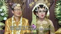Pesta Pernikahan Pria Korea dengan Wanita Indonesia, Pakai Adat Jawa dan Gelar Dangdutan. foto: Youtube 'KBS WORLD Indonesian'