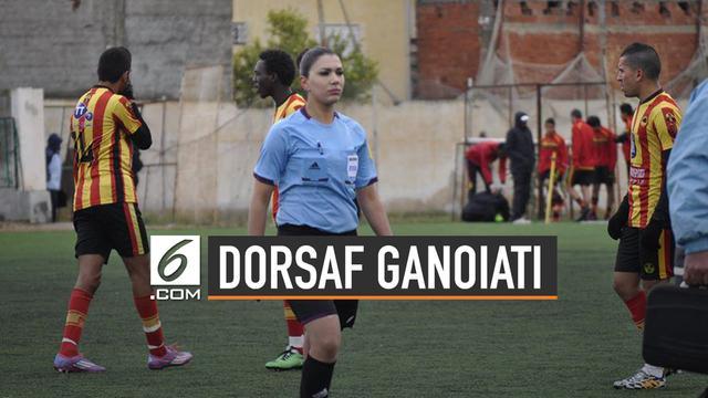 Dorsaf Ganoiati, Wanita Arab Pertama yang Jadi Wasit