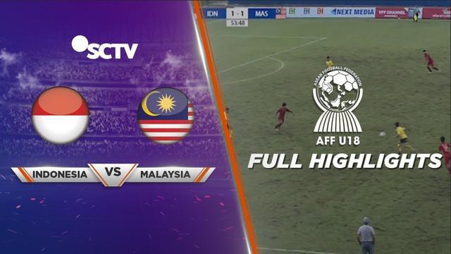 Berita video Timnas Indonesia U-18 takluk dari Malaysia U-18 pada semifinal Piala AFF U-18 2019 setelah bermain imbang 3-3 pada waktu normal, satu gol tambahan tercipta pada babak extra time, Sabtu (17/8/2019).