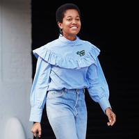 Hot Trend: Straight Jeans - Photo: whowhatwear