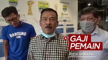 Berita video Persib Bandung memastikan gaji pemain akan sesuai dengan keputusan PSSI.