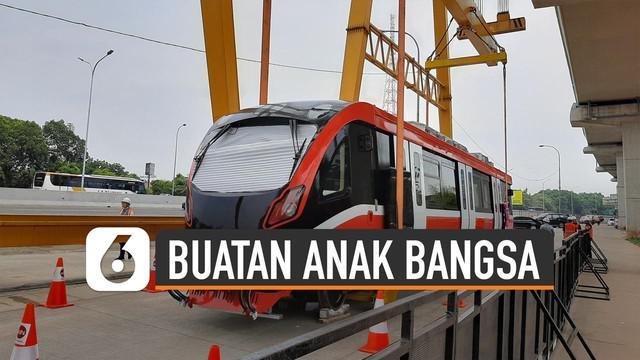 Proyek LRT Jabodebek direncanakan beroperasi pada 2021. Menko Bidang Kemaritiman Luhut Binsar Panjaitan menyebut LRT buatan Anak Bangsa.