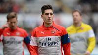 Bek Arsenal asal Spanyol, Hector Bellerin. (AFP/Oli Scarff)