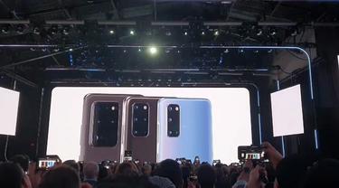 Tekno Liputan6.com berkesempatan menyaksikan peluncuran flagship smartphone terbaru Samsung Galaxy S20 Series dan smartphone layar lipat Galaxy Z Flip langsung dari San Francisco, Amerika Serikat.