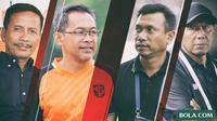 Trivia - Mantan Pemain Timnas Indonesia Yang Jadi Pelatih (Bola.com/Adreanus Titus)